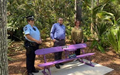 Zonta Purple Bench Launch