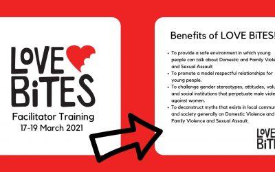 Love Bites Facilitator Training – 17-19th March 2021